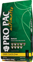 Senior Dog Food: PRO PAC Ultimates - Mature - Chicken & Brown Rice
